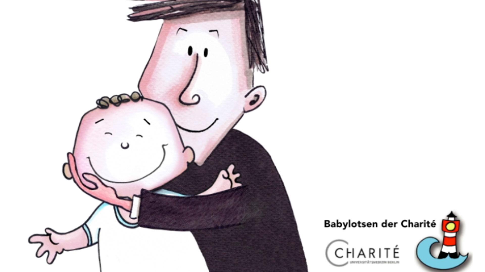 hansmann-mann-umarmt-baby-charite