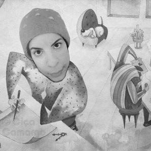Illustratorin für ánimofilm